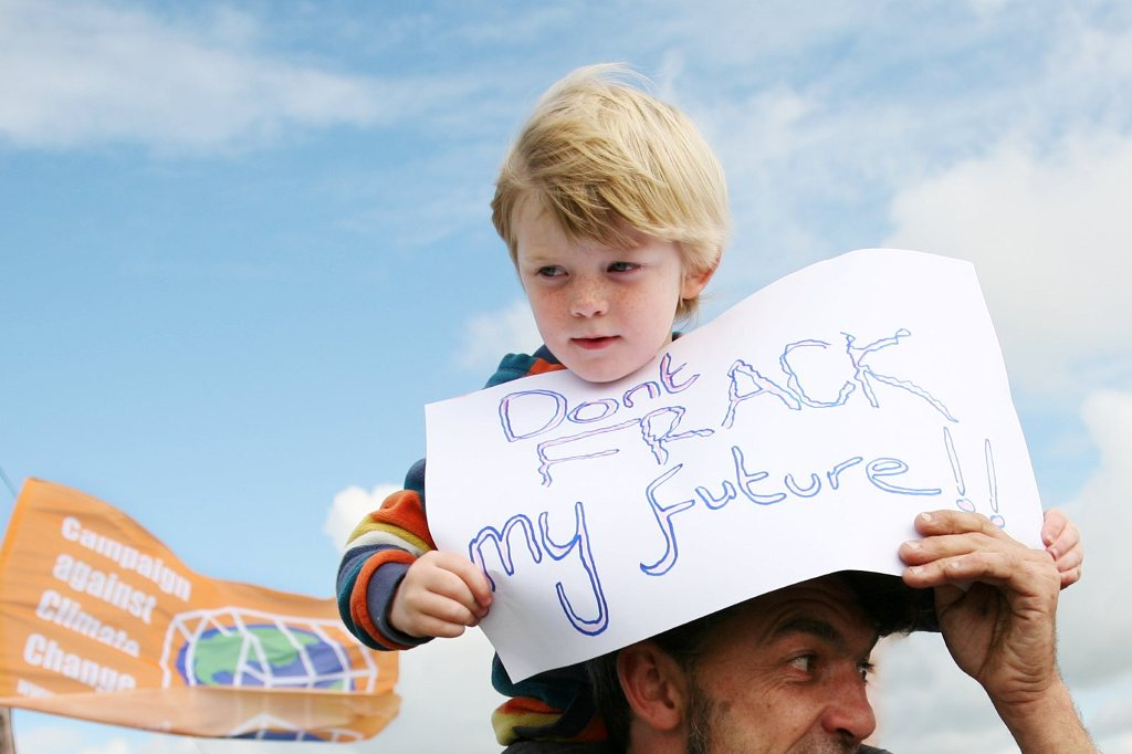 Don't Frack with my future