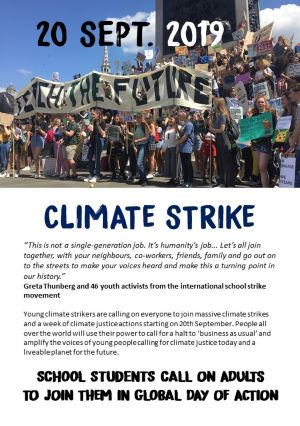 Image result for climate strike 20th september